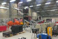 Ichtegem, industriehall met betonkernactivering. Realisatie geothermie door Geo-Thermics | Scheldimmo-groep.